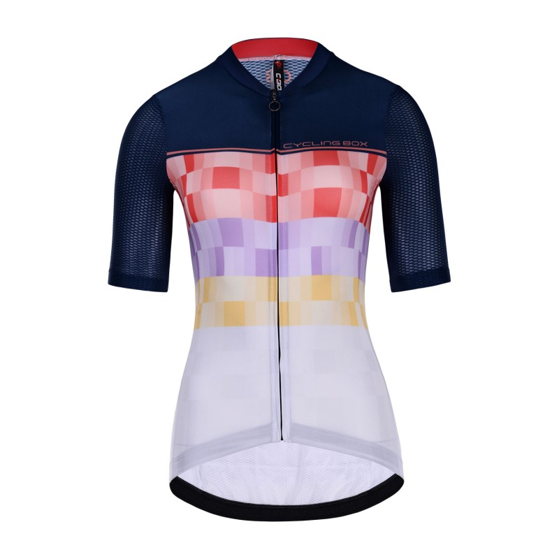 Club Short Sleeve Cycling Jersey Women Nephelinite