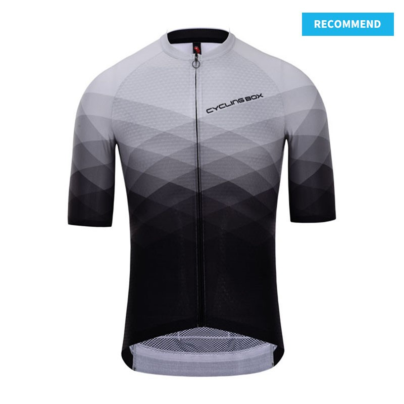 PRO Short Sleeve Cycling Jersey Cascade - recommend template