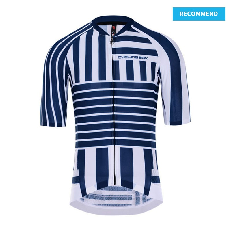 RACE Short Sleeve Cycling Jersey Labyrinth - recommend template