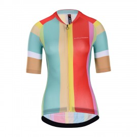 Club Short Sleeve Cycling Jersey Women Mesowo