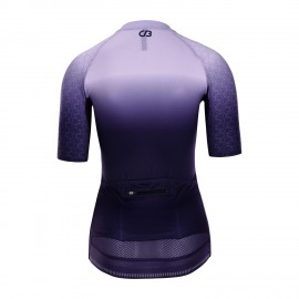 PRO Short Sleeve Cycling Jersey Womens Bletilla