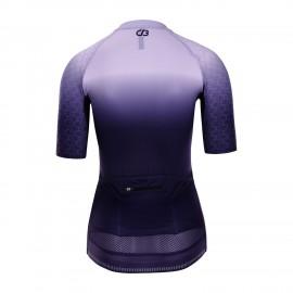 PRO Short Sleeve Cycling Jersey Womens Bletilla