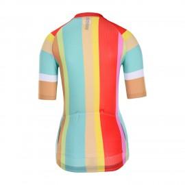 Club Short Sleeve Cycling Jersey Women Mesowo
