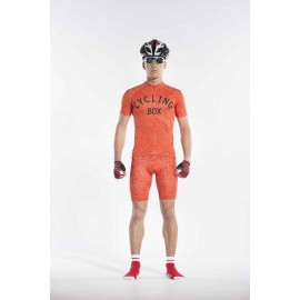2016 Mens Orange Cycling Outfit Race Maze