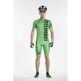 2016 Mens Green Cycling Outfits Race Jungle Prince