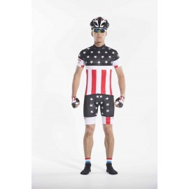 2016 Men Black Biking Outfits Beginner Classic American