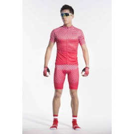 2016 Mens Red Cycling Kits Beginner Freedom
