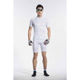2016 Men White Cycling Suits Beginner Wander