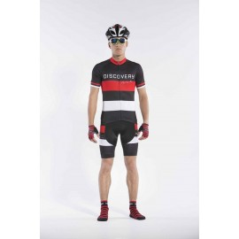 2016 Mens Black Team Cycling Kits Medium Discovery