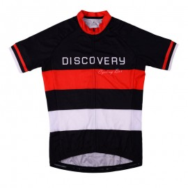 2016 Mens Black Biking Jersey Medium Discovery