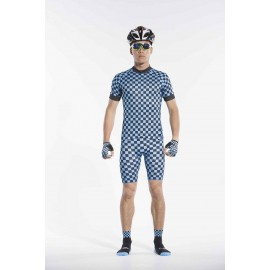 2016 Blue Cycling Kits for Men Medium Seik