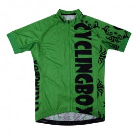2016 Mens Green Biker Jersey Race Jungle Prince