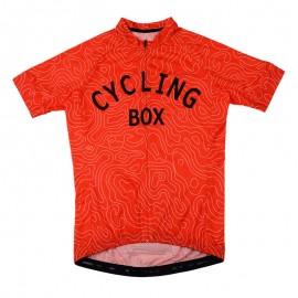 2016 Orange Bike Jersey Men Race Maze