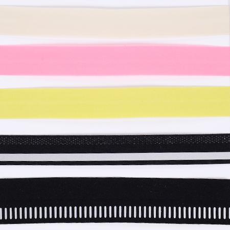 Pre-folding elastic tape