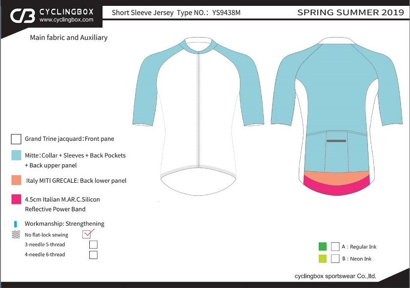 custom bicycle clothing