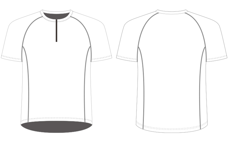 Custom running tops template