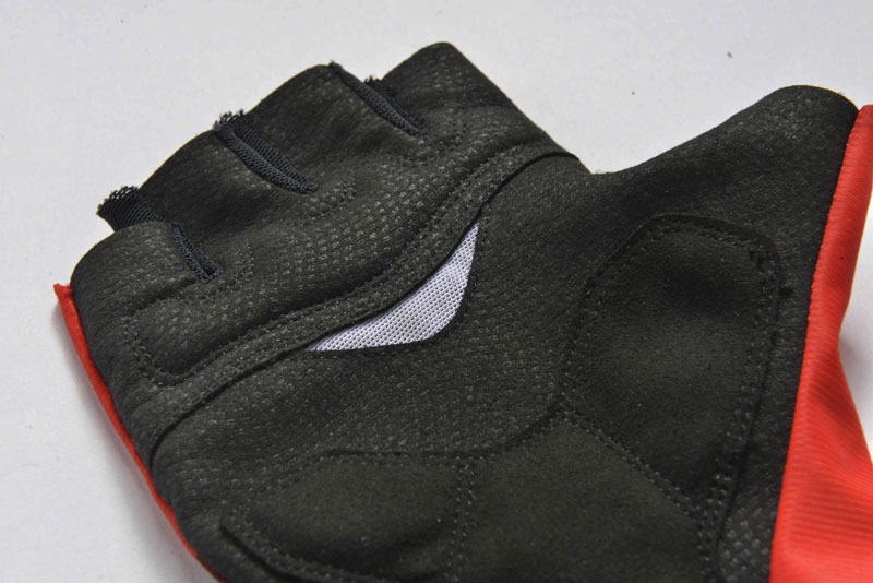custom bike gloves details