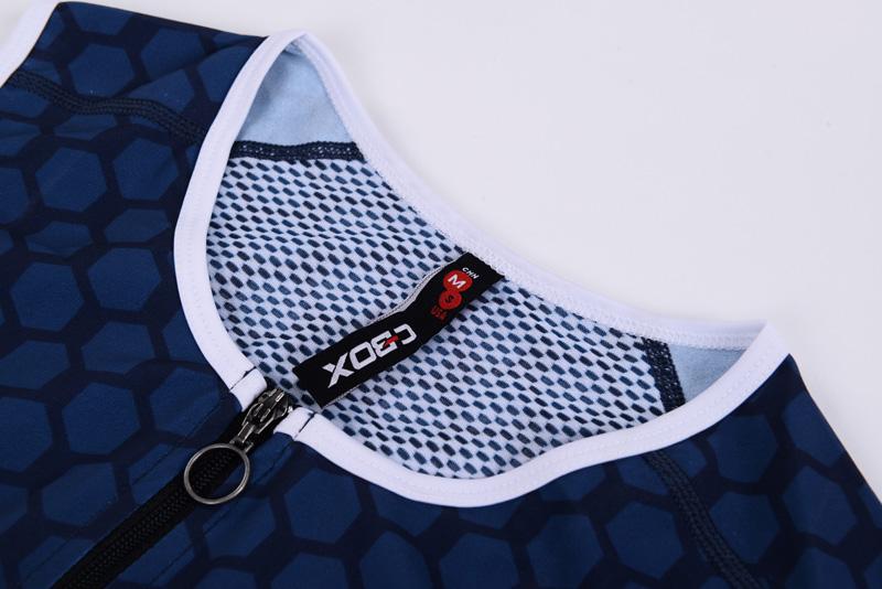 3/4 length front-zipper