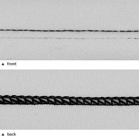 1/8 Twin Stitching