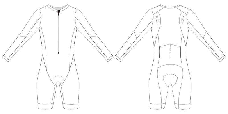 custom triathlon skinsuit template