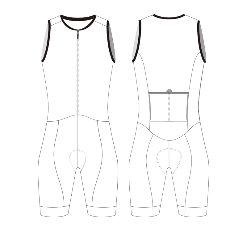 custom cycling skinsuit template