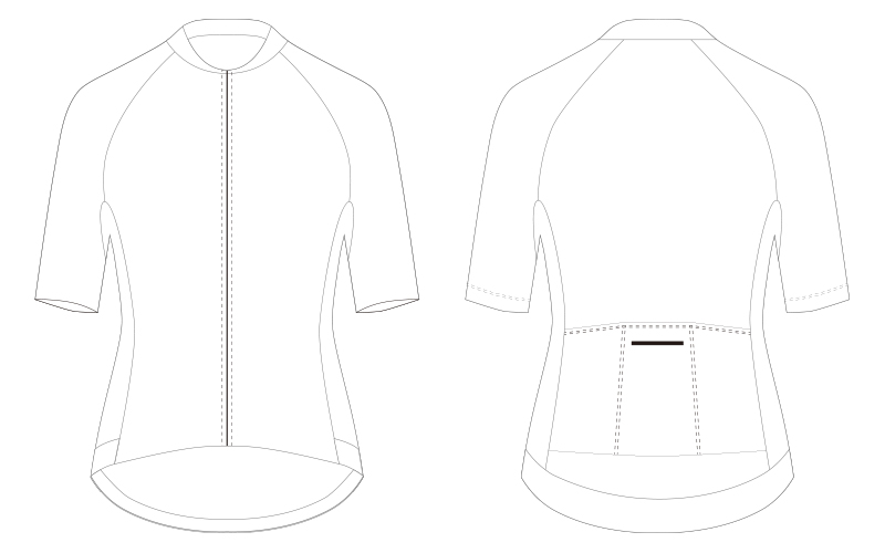 bike jersey template
