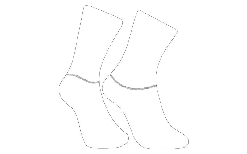 custom cycling socks template